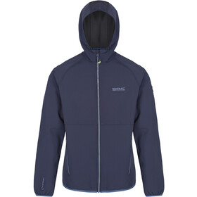 Regatta Arec II Giacca soft shell Uomo, navy/seal grey
